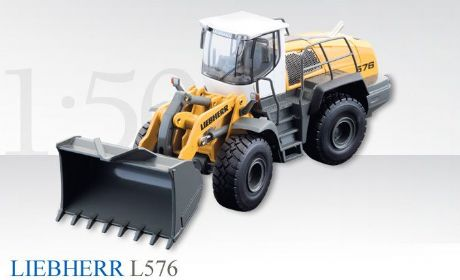Conrad LIEBHERR L 576 Wheel loader in Yellow